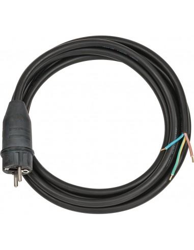 Przewód przyłącza czarny 3m