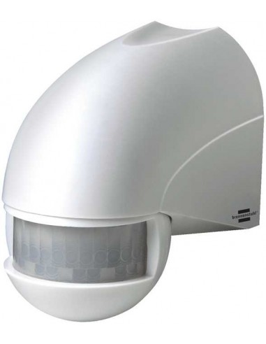 Detektor ruchu na podczerwień biały